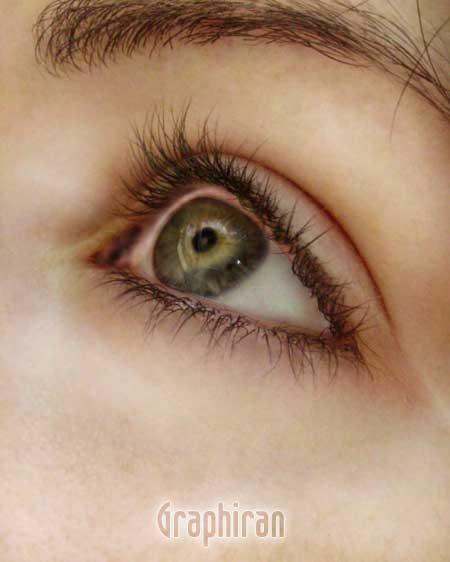111 آموزش تصویری روتوش پوست صورت و آرایش چشم در فتوشاپ
