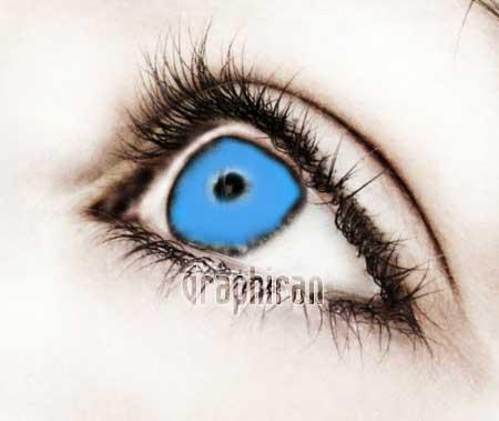 141 آموزش تصویری روتوش پوست صورت و آرایش چشم در فتوشاپ