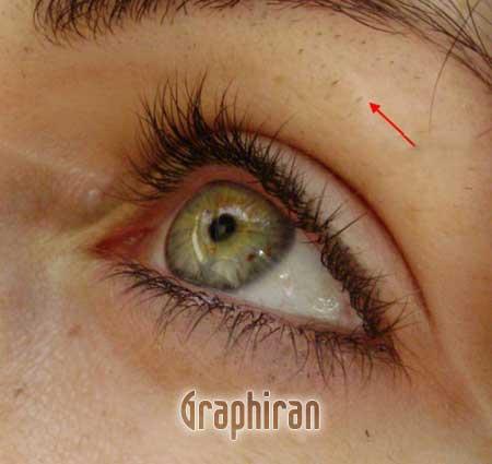 4 آموزش تصویری روتوش پوست صورت و آرایش چشم در فتوشاپ