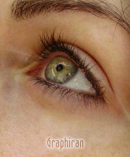 6 آموزش تصویری روتوش پوست صورت و آرایش چشم در فتوشاپ