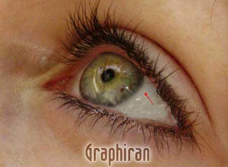 7 آموزش تصویری روتوش پوست صورت و آرایش چشم در فتوشاپ