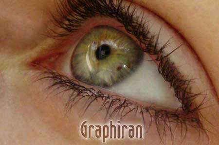 8 آموزش تصویری روتوش پوست صورت و آرایش چشم در فتوشاپ