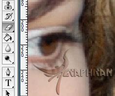 Imagen 12 آموزش تصویری حذف پس زمینه از بین مو در فتوشاپ