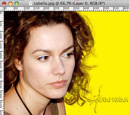 Imagen 15 آموزش تصویری حذف پس زمینه از بین مو در فتوشاپ