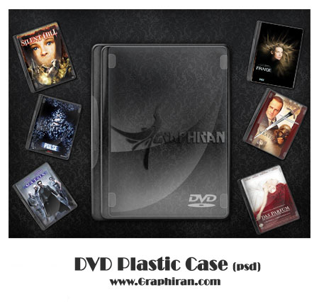 dvd plastic case دانلود فایل لایه باز قاب دی وی دی