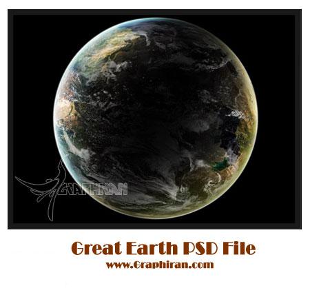 PSD کره زمین