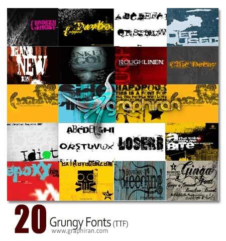 grung font