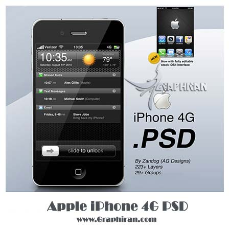 Apple-iPhone-4G-PSD