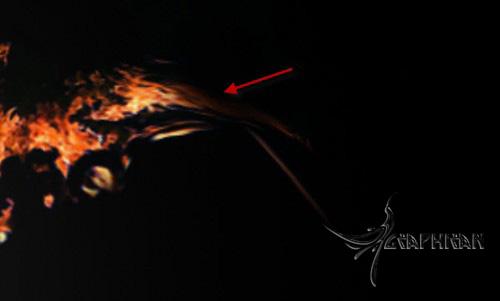 alexa23 طراحی صحنه ی سوررئال با افکت آتش در فتوشاپ