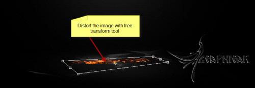 alexa6 طراحی صحنه ی سوررئال با افکت آتش در فتوشاپ