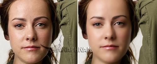 asli 2 آموزش روتوش حرفه ای چهره و پوست صورت در فتوشاپ