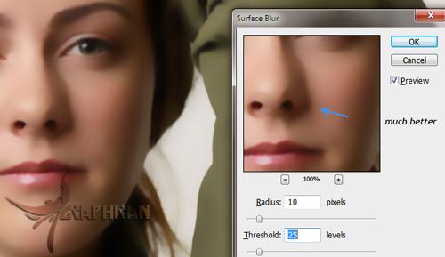 asli 7 آموزش روتوش حرفه ای چهره و پوست صورت در فتوشاپ