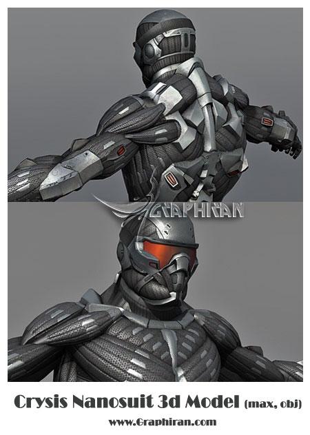 مدل 3 بعدی Crysis
