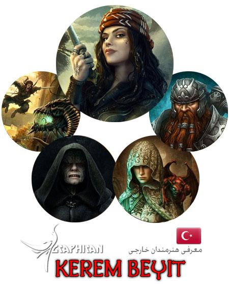 هنرمند گرافیسک کشور ترکیه