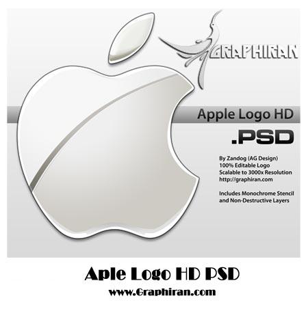 لوگو لایه باز شرکت اپل