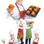 دانلود عکس استوک سرآشپز مرد شماره ۱۶  Male Chef Stock Photo