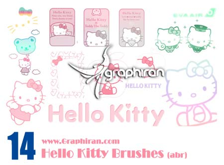 براش فانتزی Hello Kitty