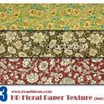 تکسچر کاغذ دیواری گلدار شماره ۱۹   Floral Paper Texture No19