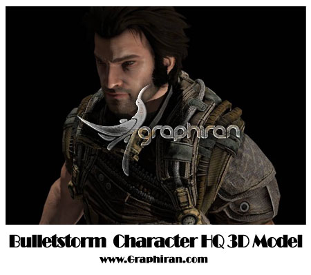 Bullet-Storm-3d-model