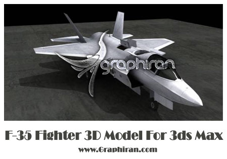 F-35 Fighter 3d model