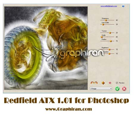 Redfield ATX 1.01 for Adobe Photoshop