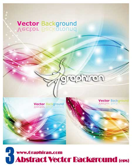 abstract vector وکتور پس زمینه رنگی و انتزاعی | Abstract Vector Background