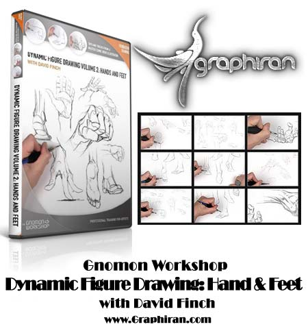Gnomon Workshop: Dynamic Figure Drawing - Hands And Feet With David Finch