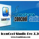 نرم افزار ساخت آیکون حرفه ای IconCool Studio Pro 8.10 Build 131120