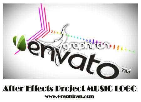 پروژه افتر افکت موزیک
