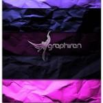 تکسچر کاغذ مچاله شده شماره ۲۴ | Purple Wrinkled Paper Texture