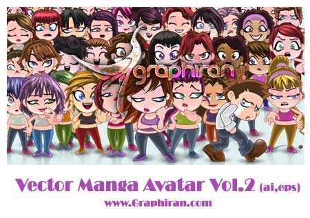vector-manga-avatar-faces2