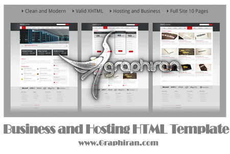 Business and Hosting HTML Template