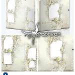 دانلود قاب عکس عروس و داماد مناسب ساخت آلبوم دیجیتال شماره ۱۵