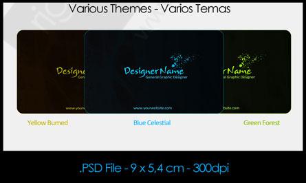 template2 دانلود PSD کارت ویزیت آماده و دورو کاملا حرفه ای شماره 59