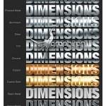 دانلود استایل و اکشن های ساخت متن ۳ بعدی و سایه دار در فتوشاپ