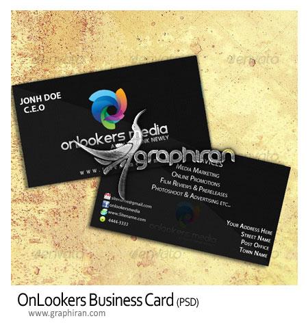 طرح کارت ویزیت دورو و لایه باز برای انواع شغل ها – شماره ۶۲