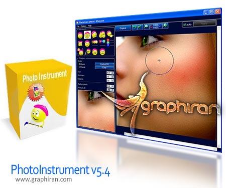نرم افزار ویرایش و روتوش عکس PhotoInstrument 5.4