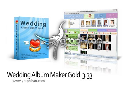 Wedding.Album .Maker .Gold .v3.331 نرم افزار ساخت آلبوم عروسی Wedding Album Maker Gold 3.33
