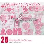 دانلود براش ولنتاین فتوشاپ – Valentine Photoshop Brush