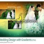 دانلود فون عروس و داماد PSD لایه باز شماره ۲۴