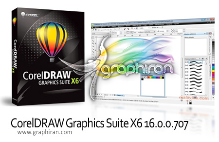 CorelDRAW Graphics Suite X6 16.0.0.707 دانلود CorelDRAW Graphics Suite X6 16.0.0.707 نرم افزار طراحی