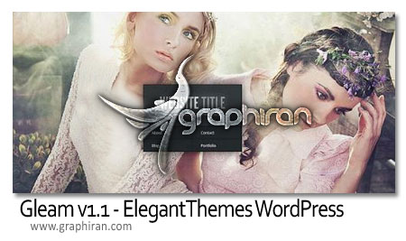 Gleam v1.1 Elegant Themes WordPress