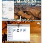 دانلود تم مکینتاش برای ویندوز سون – Lionx Theme for Windows 7