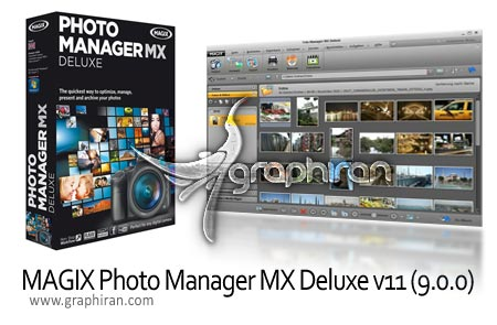 MAGIX Photo Manager MX Deluxe v11