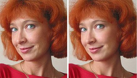 نرم افزار حرفه ای آرایش و روتوش صورت عکس
