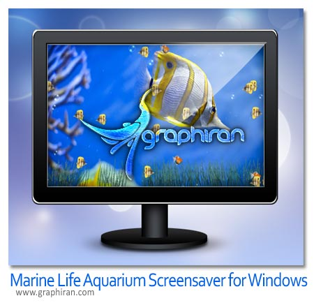 Marine Life Aquarium Screensaver for Windows