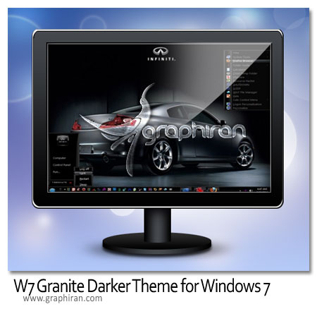 W7 Granite Darker Theme for Windows 7