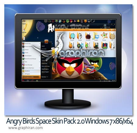 Angry Birds Space Skin Pack 2.0