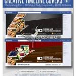 طرح PSD خلاقانه کاور فیس بوک – Facebook Creative Timeline Cover