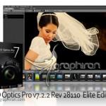 نرم افزار افزایش کیفیت تصاویر دوربین عکاسی DxO Optics Pro 11.4.1 Build 12119
